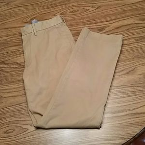 J crew classic fit chino pants, 30x30, khaki